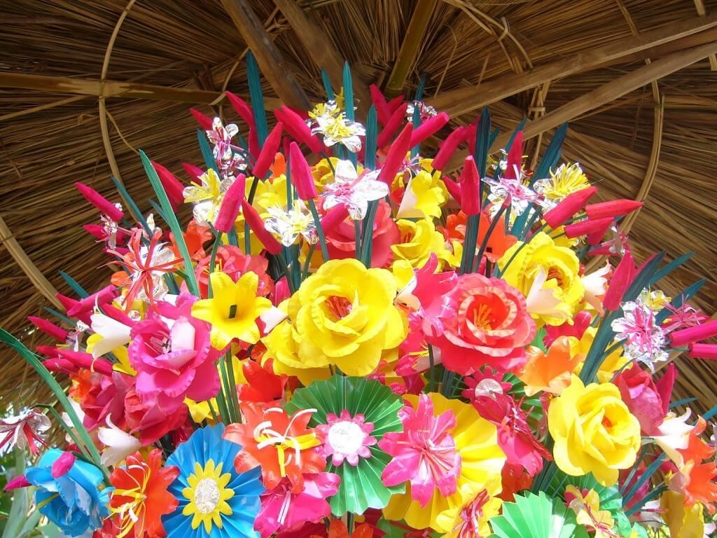 Làng hoa giấy Thanh Tiên