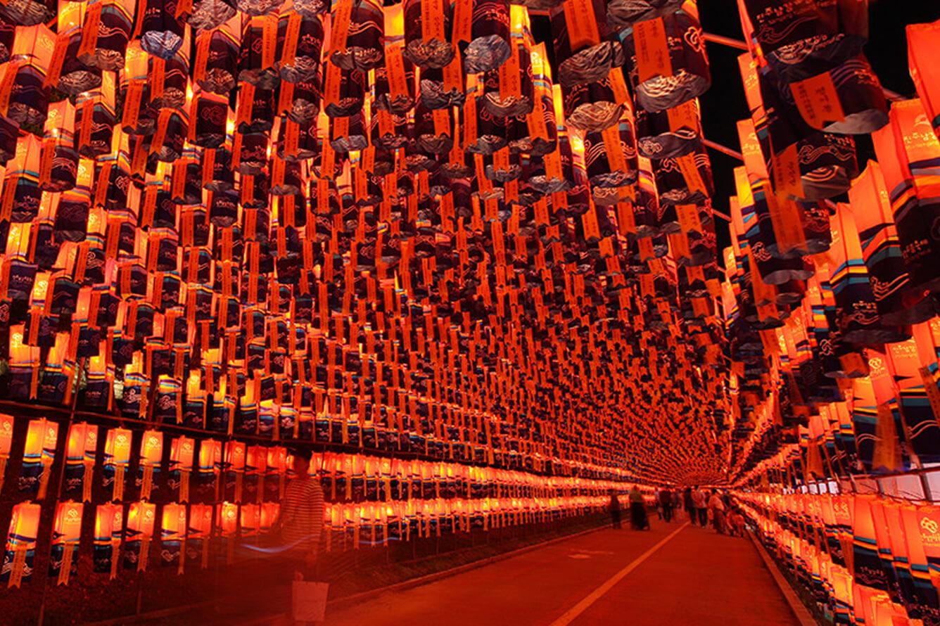 Lễ hội lồng đèn Jinju (Gyeongnam-do)