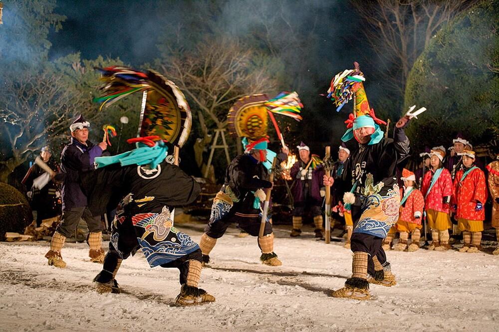 3. Lễ hội Hachinohe Enburi