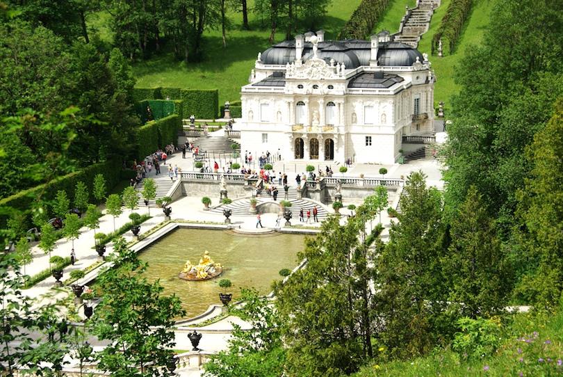 3. Linderhof Palace