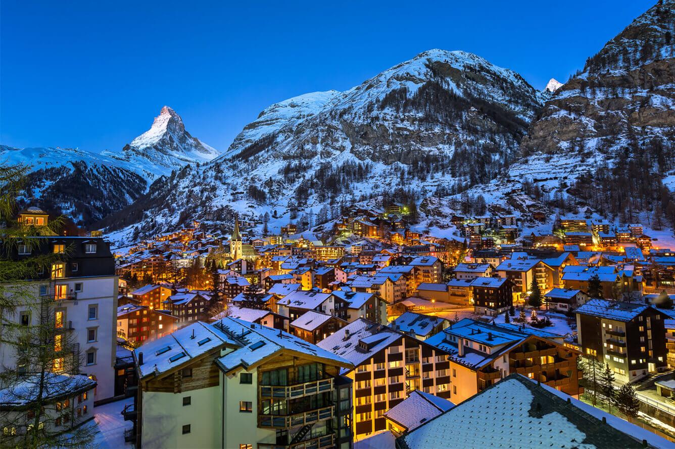 Thăm ngôi làng Zermatt thần tiên