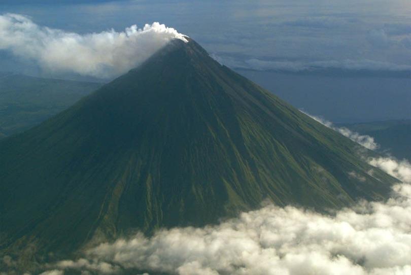 8. Mayon Volcano