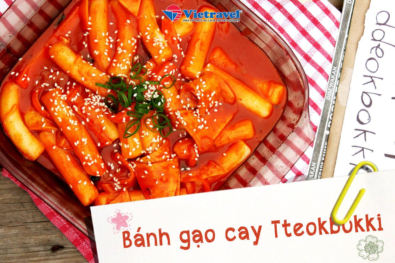 Bánh gạo cay Tteokbokki
