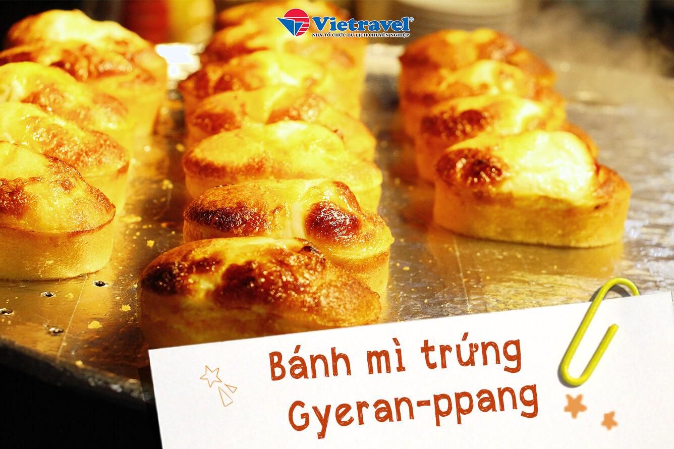 Bánh mì trứng Gyeran-ppang