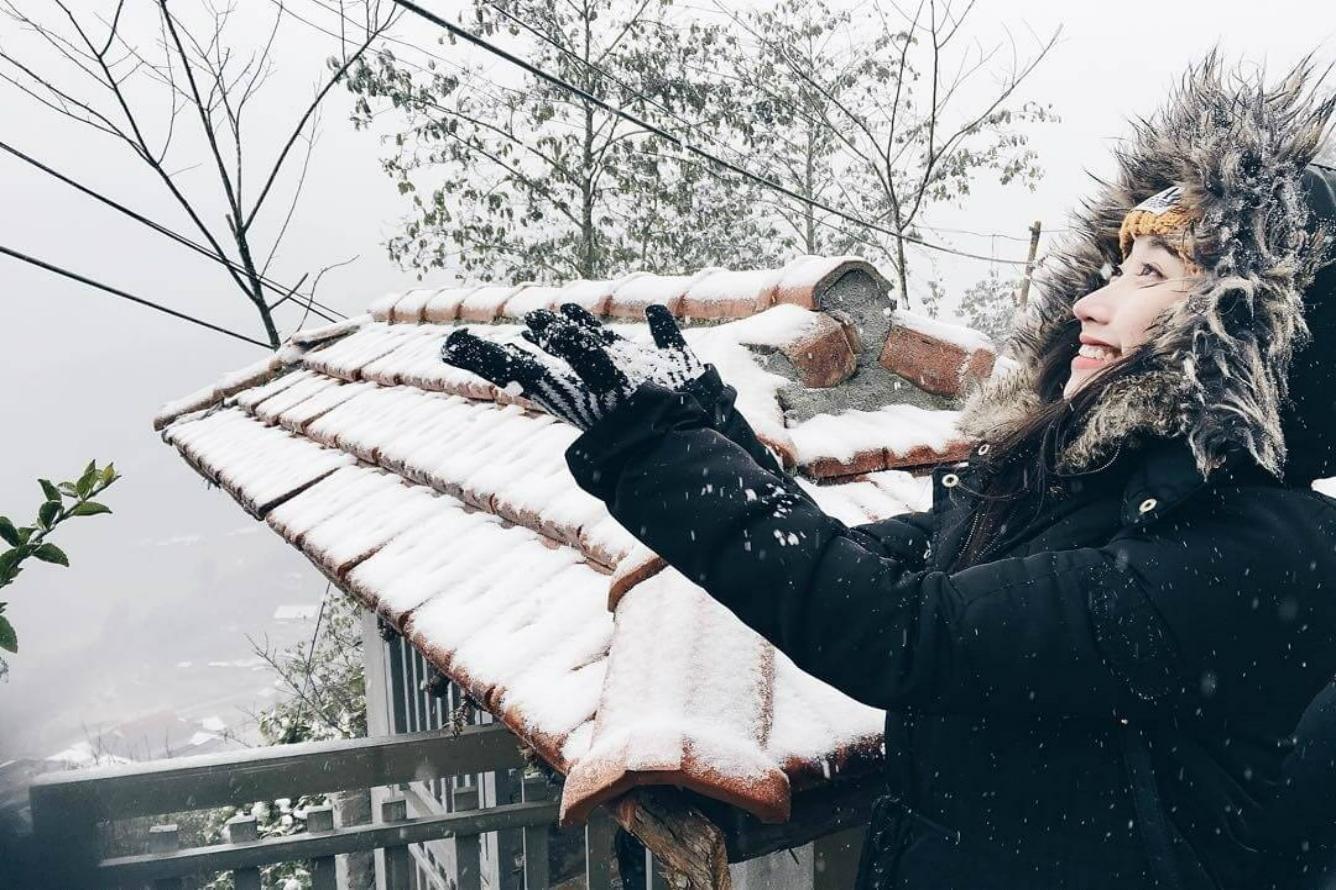 """Sapa vào đông và """"giấc mơ tuyết trắng"""""""