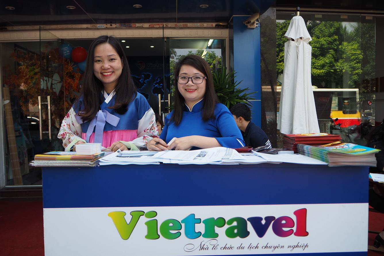 khai mạc Ngày Hội du lịch Vietravel
