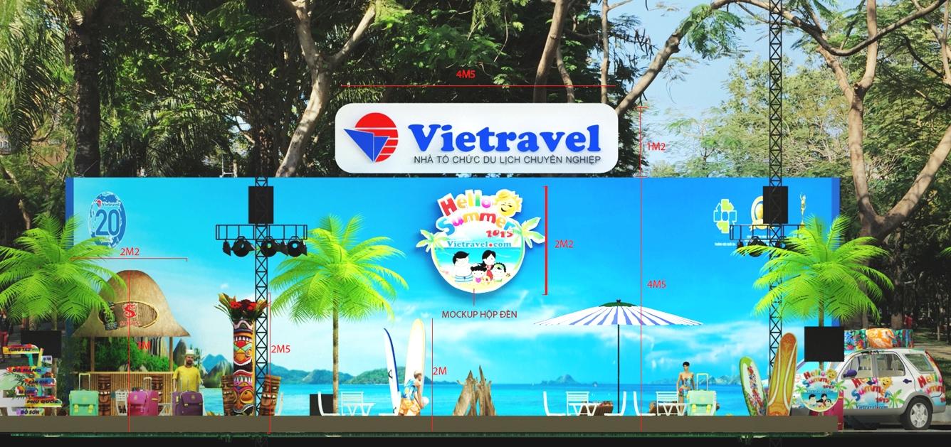 Vietravel: Hoạt động đặc sắc tại Ngày hội Du lịch TP.HCM