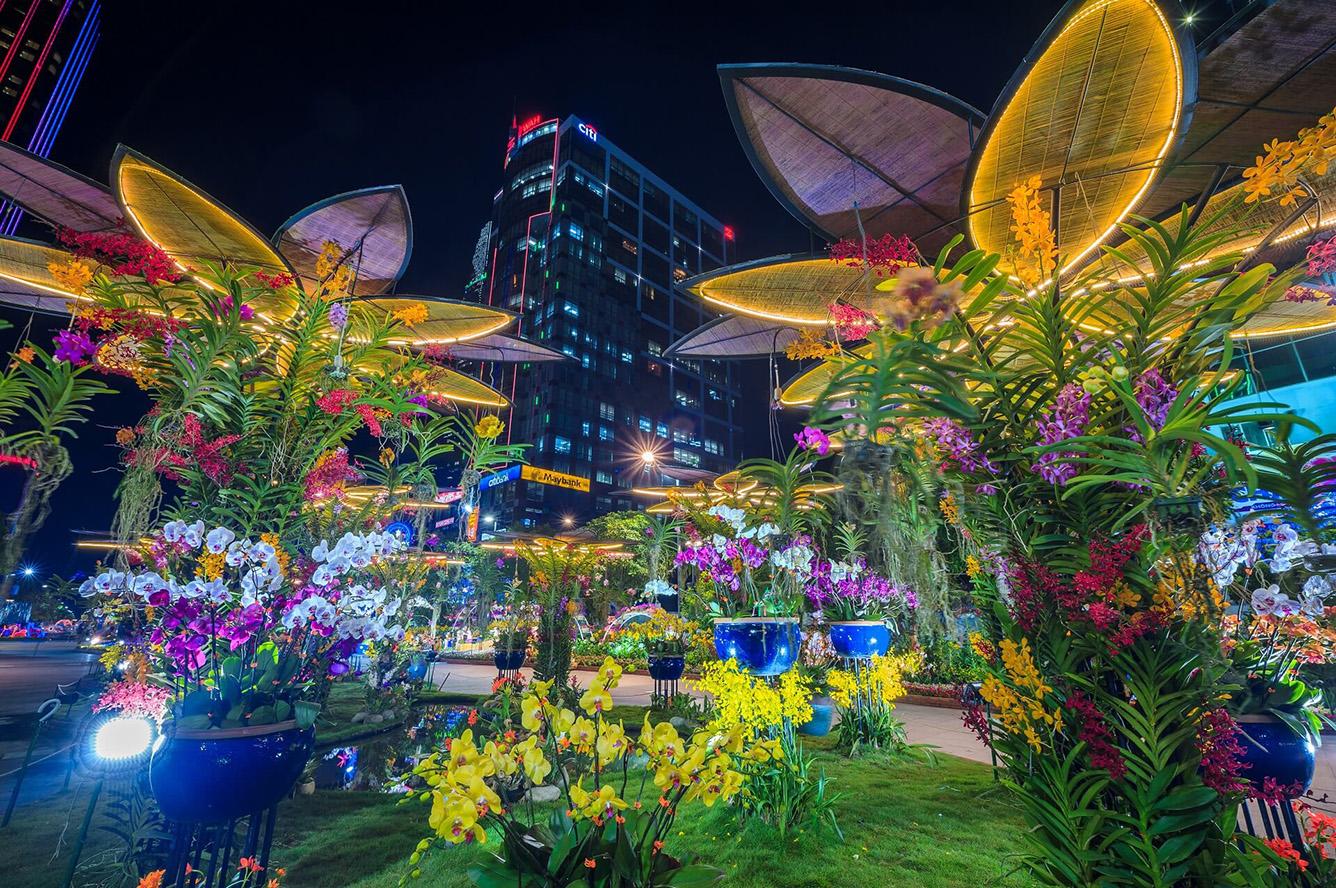 NGUYEN HUE FLOWER STREET FESTIVAL: 22 Jan 2020 - 28 Jan 2020 | Ho Chi Minh City