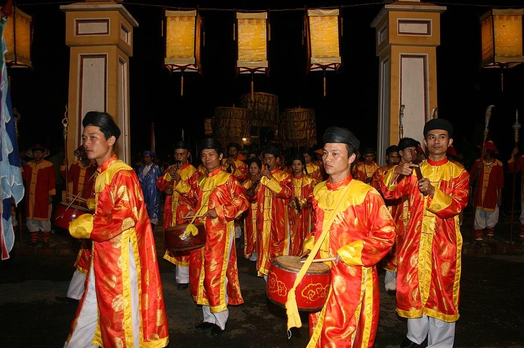 Nha nhac (the Royal Refined Music) of Hue