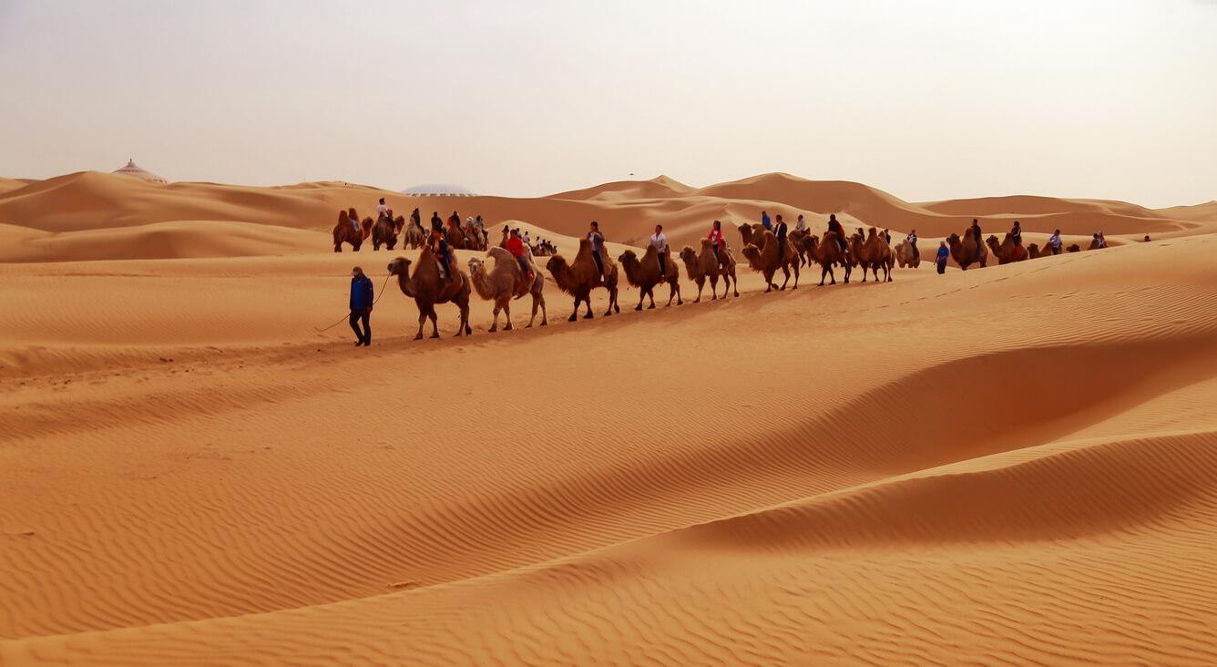 Sa mạc Vọng Âm - Những nốt nhạc huyền bí của gió và cát