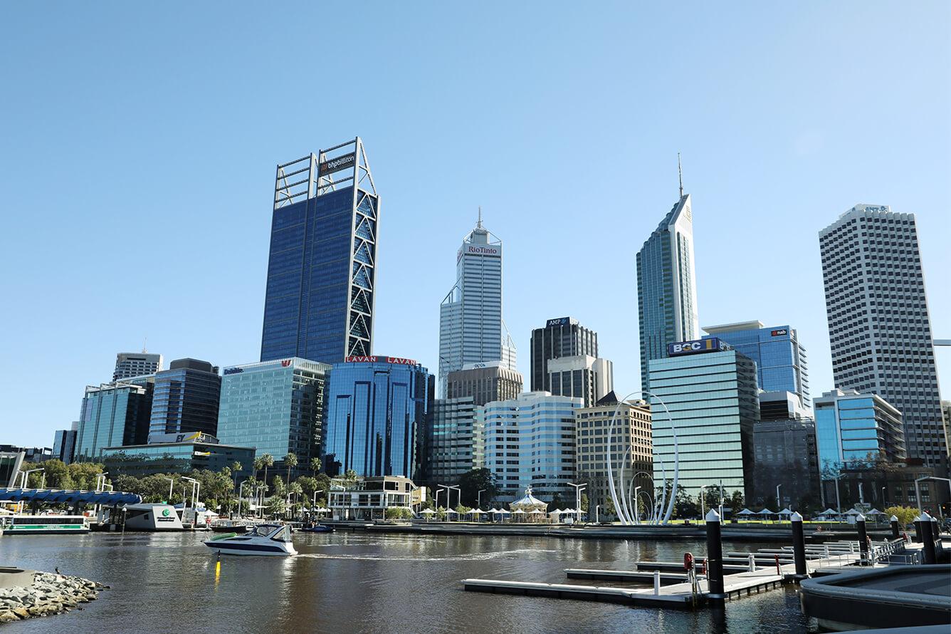 Perth, những vạt nắng lang thang khắp phố