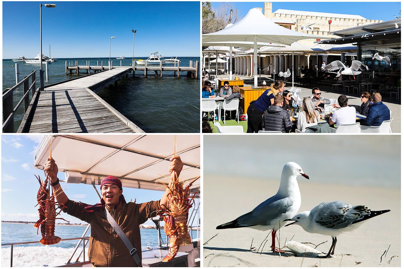 Fremantle, những ngày trời xanh bên bờ phố cảng