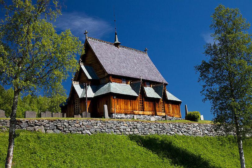 5. Reinli Stave Church