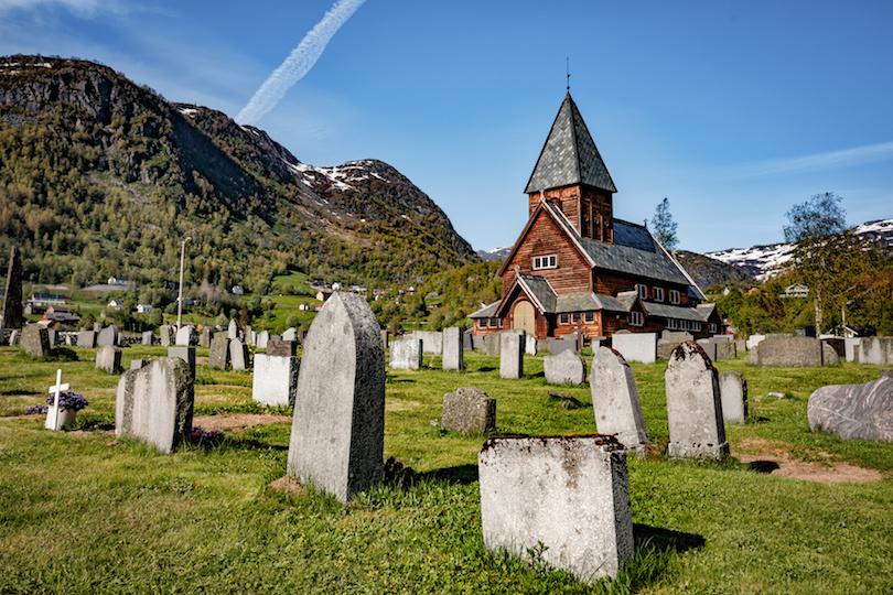 7. Roldal Stave Church