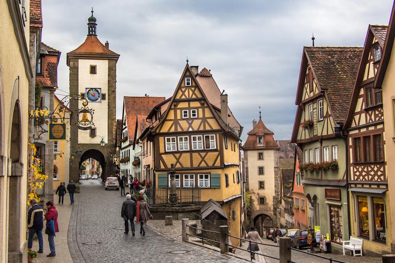 5. Rothenburg ob der Tauber