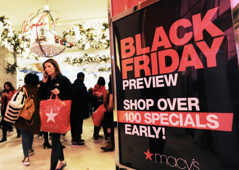 Nhộn nhịp mùa 'big sales' cuối năm tại Mỹ