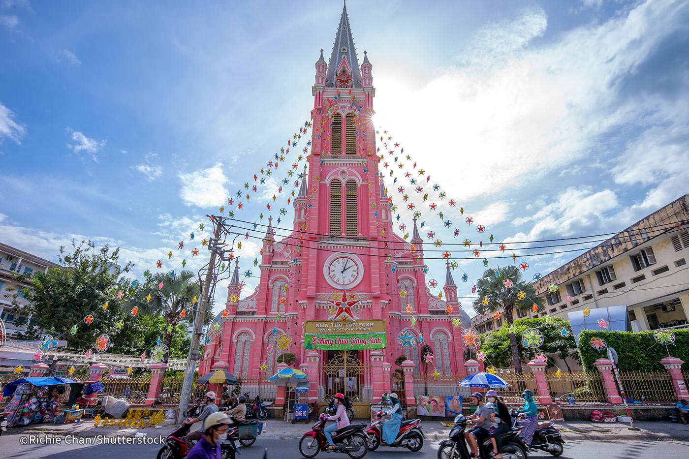 Tan Dinh Church Saigon
