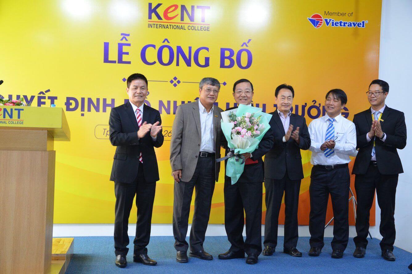 Vietravel Holdings bổ nhiệm ông Nguyễn Quyết Chiến - Tân Hiệu trưởng Trường Cao đẳng Quốc tế Kent