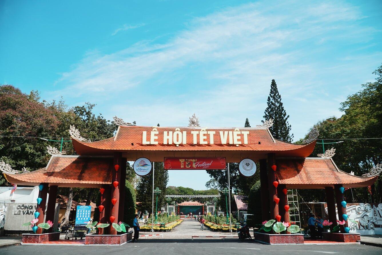 Có gì đặc sắc tại Lễ hội Tết Việt tại công viên Lê Văn Tám