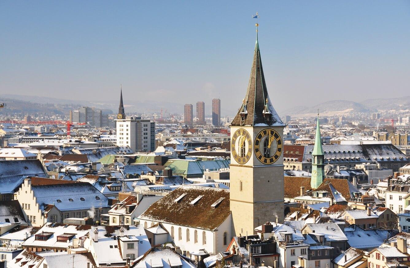 Zurich - thành phố của những kiến trúc tuyệt vời