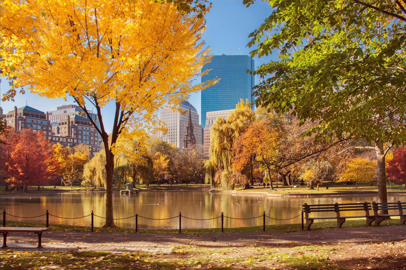 Boston ôm trọn sắc thu quyến rũ