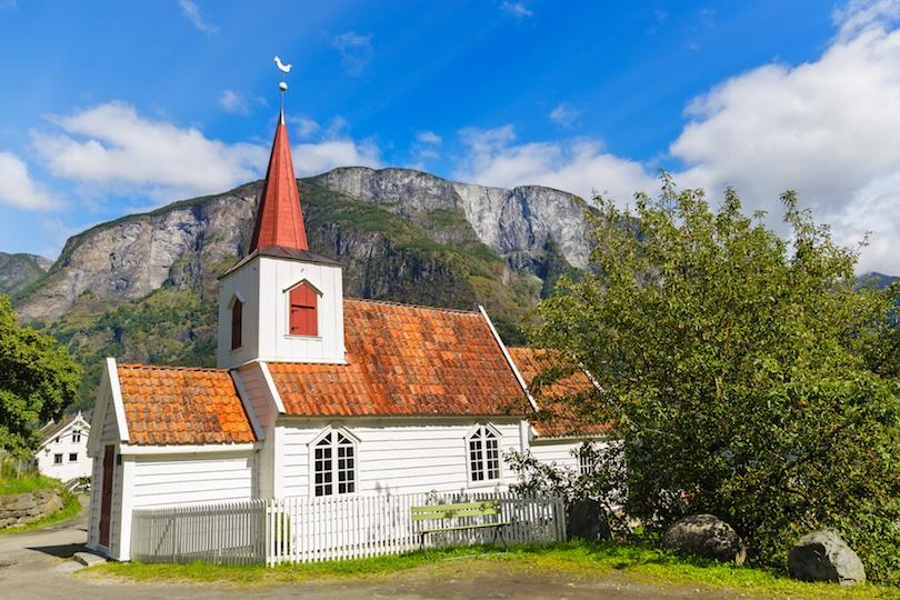 8. Undredal Stave Church