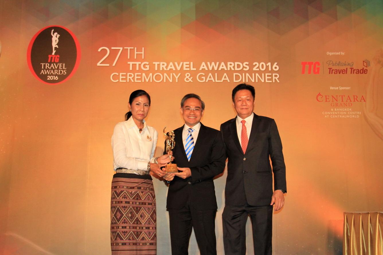 Một số hình ảnh tại Lễ trao giải TTG Travel Awards 2016