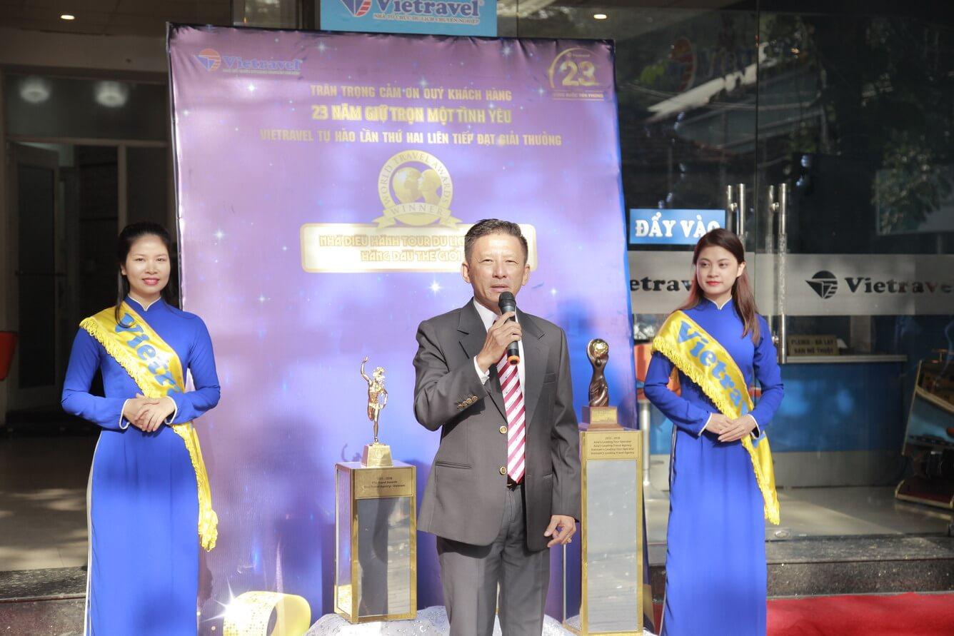 Lan tỏa tri ân, ngập tràn ưu đãi nhân dịp đón cúp 'World Travel Awards' tại chi nhánh Vietravel Hải Phòng