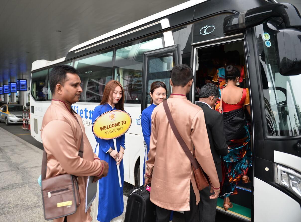 Những đoàn Đại biểu Quốc tế đầu tiên tham dự đại lễ Phật Đản Liên hợp quốc 2019 đã có mặt tại Việt Nam