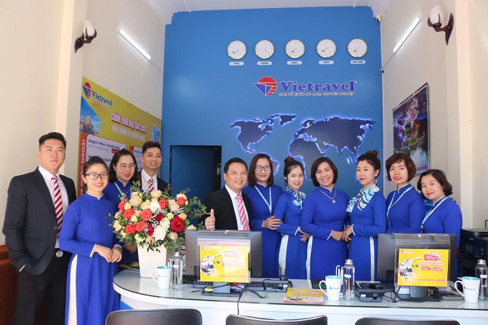Vietravel Quảng Ninh khai trương văn phòng Uông Bí tạo đột phá trong phát triển và đổi mới