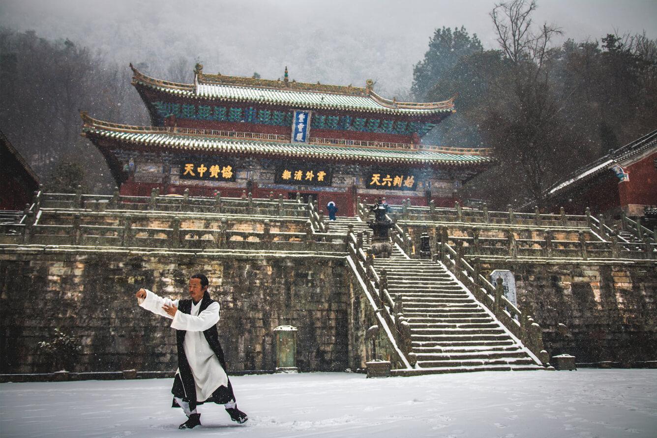 Núi Võ Đang - 'thiên đường' bước ra từ tiểu thuyết Kim Dung