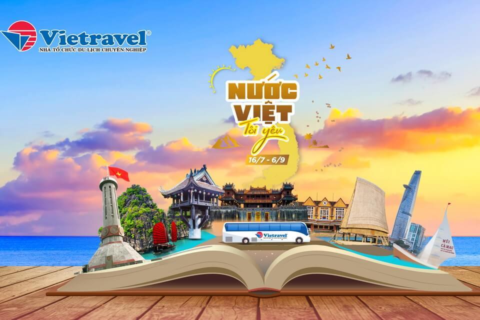 """Ưu đãi hấp dẫn chương trình khuyến mại hè 2020 """"Nước Việt tôi yêu"""""""