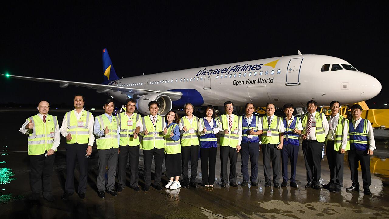Vietravel Airlines chính thức đón tàu bay đầu tiên về Việt Nam