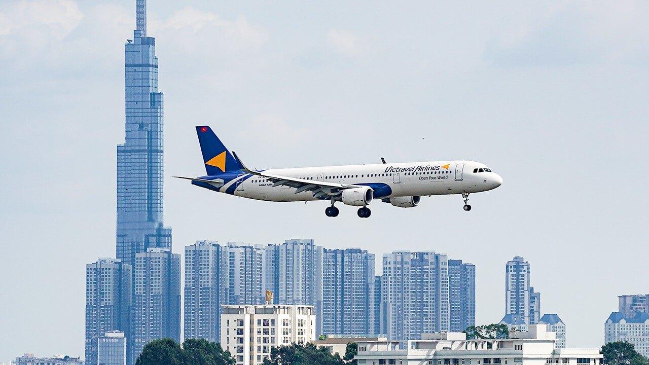 Trải nghiệm chuyến bay của Vietravel Airlines hàng không lữ hành đầu tiên tại Việt Nam