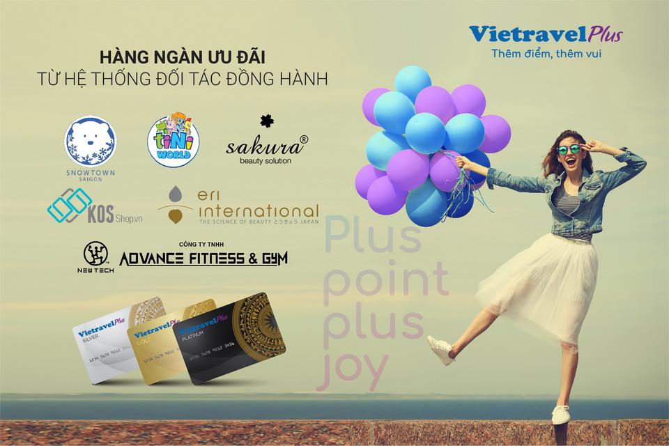 Công bố chương trình 'VietravelPlus - Thêm điểm, thêm vui'