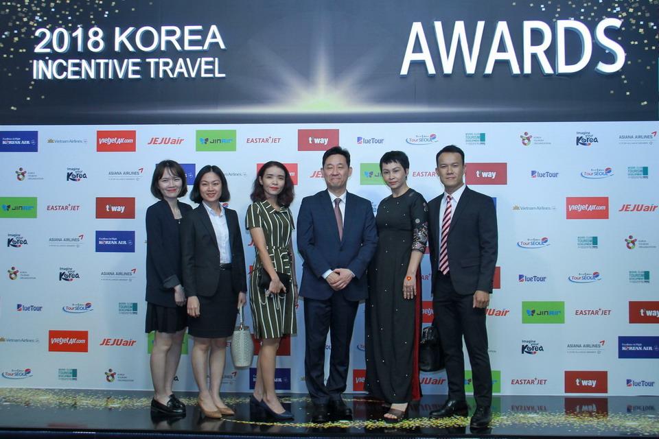 Vietravel tự hào 6 năm liền đạt giải thưởng uy tín từ Tổng Cục Du Lịch Hàn Quốc (KTO)