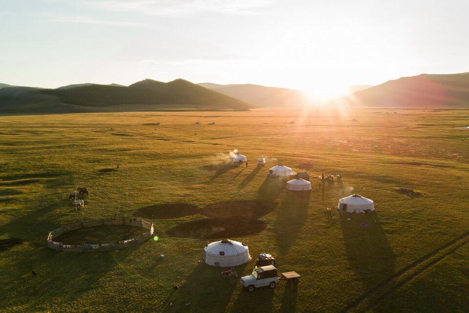 Mông Cổ - tìm bình yên trên thảo nguyên bất tận