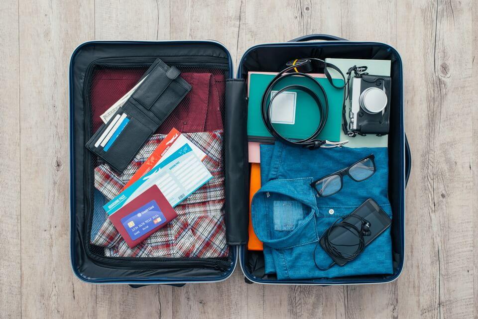 Sắp xếp hành lý hiệu quả khi đi du lịch