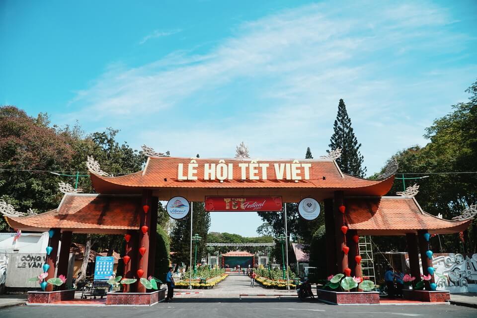 'Hé lộ' những hình ảnh đầu tiên của lễ hội Tết Việt