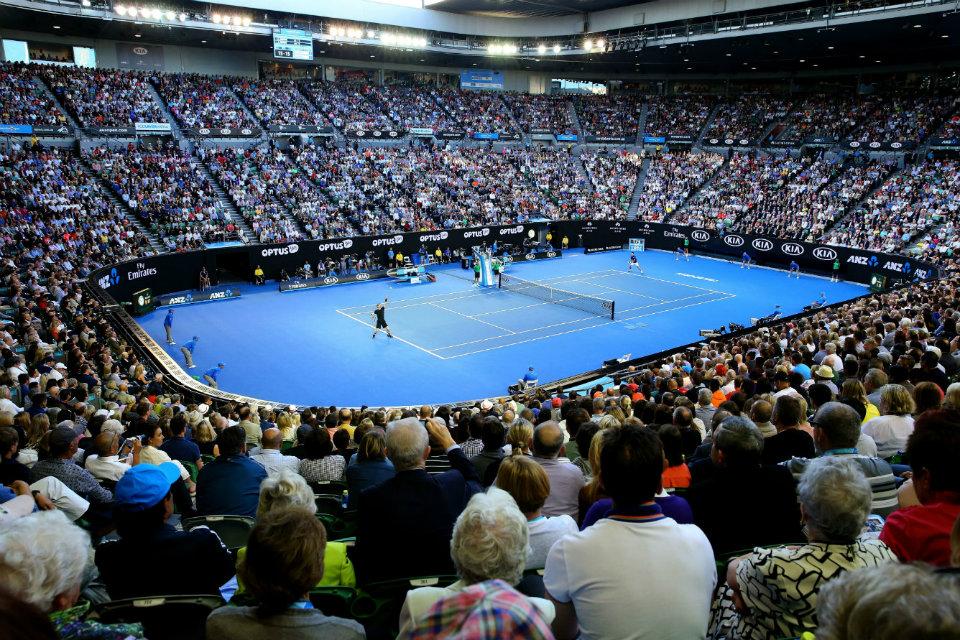 GIẢI QUẦN VỢT AUSTRALIAN OPEN 2018  TRANH TÀI ĐỈNH CAO Ở MELBOURNE PARK