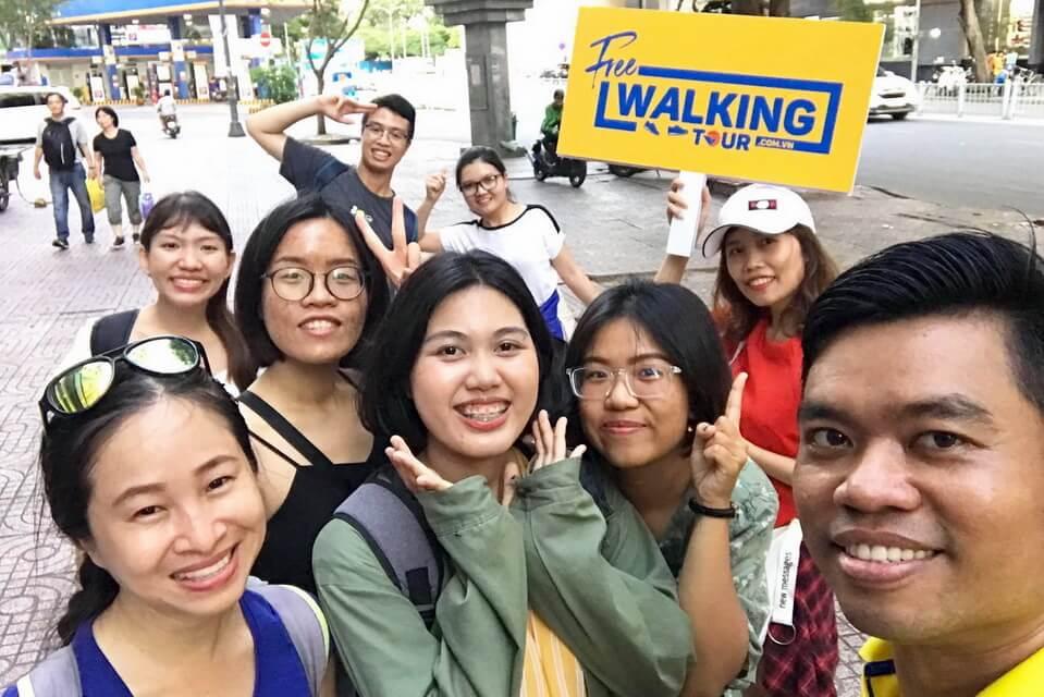 Vietravel thu hút khách quốc tế với 'Free Walking Tour'