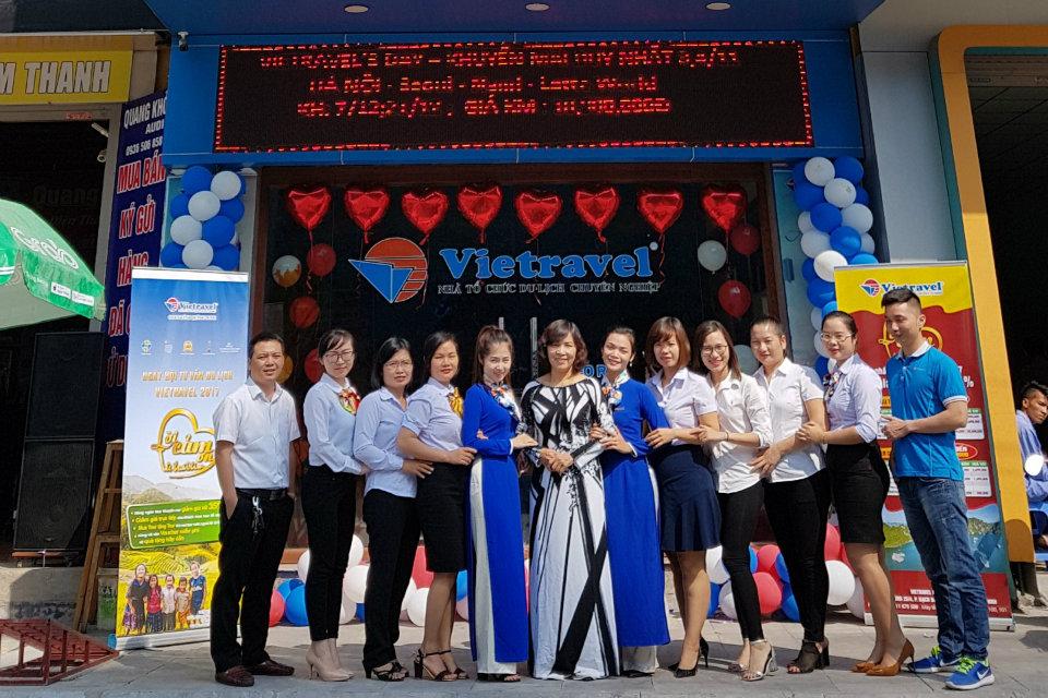Tưng bừng khuyến mãi ngày hội tư vấn du lịch Vietravel 2017 cùng Vietravel Quảng Ninh