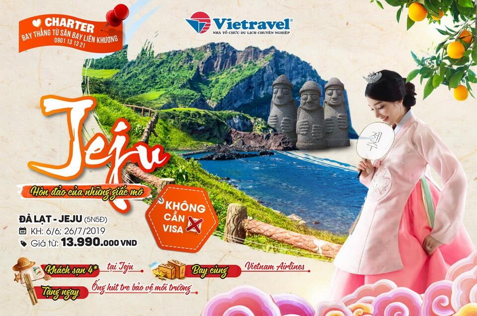 Từ Đà Lạt đến Jeju: Khoảng cách là bao xa?