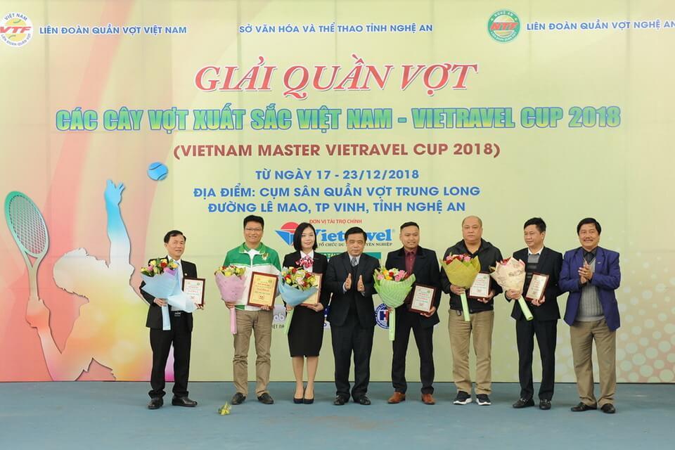 Bế mạc Giải Quần vợt các Cây vợt xuất sắc Việt Nam - Vietravel Cup 2018 (Vietnam Master – Vietravel Cup 2018)