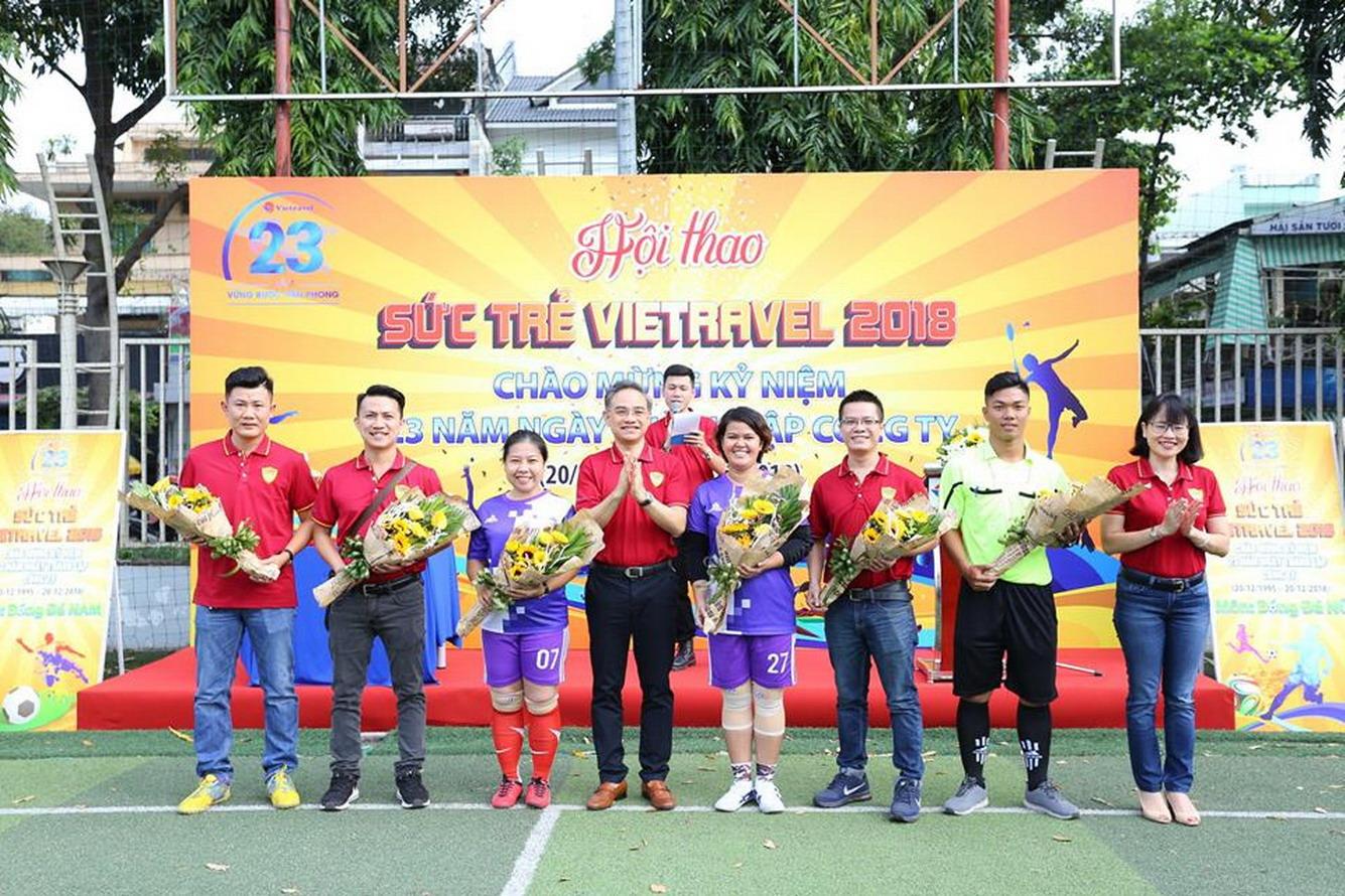 Lễ tổng kết Hội thao chào mừng kỷ niệm 23 năm thành lập Công ty Du lịch Vietravel