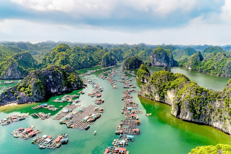 Vịnh Lan Hạ - Thiên đường kỳ thú