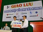 Vietravel trao học bổng và tuyển dụng sinh viên Học viện hàng không Việt Nam