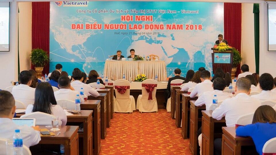 Vietravel tổ chức Hội nghị Người lao động năm 2018