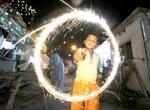 Jubilant spirit marks Indian lights festival
