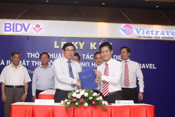 Vietravel và BIDV ký kết thỏa thuận hợp tác toàn diện giai đoạn 2014 - 2017